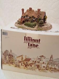 Lilliput-Lane-OAKWOOD-SMITHY-1992-Rare-Vintage-Gift