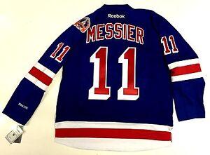 MARK MESSIER 1994 STANLEY CUP NEW YORK RANGERS JERSEY REEBOK PREMIER ... 466fda35c