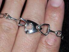 DV Italy Sterling .925 Silver Bracelet - 7 inch. / 8.2 grams