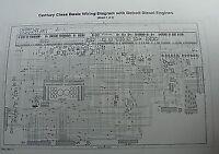 2000 - Up Freightliner Century Columbia Wiring Diagram Schematic W/ Detroit D