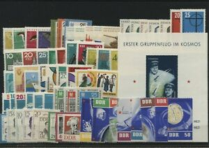 Germany-GDR-DDR-R-d-a-Vintage-Yearset-1962-Neuf-MNH-Complet