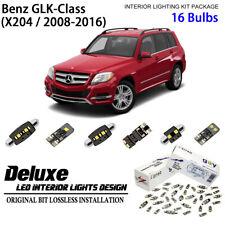 Deluxe Led Interior Light Kit Xenon White For 2008 2016 Benz Glk Class Set B