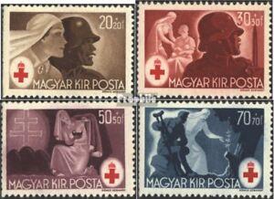 Ungarn-749-752-kompl-Ausg-postfrisch-1944-Rotes-Kreuz