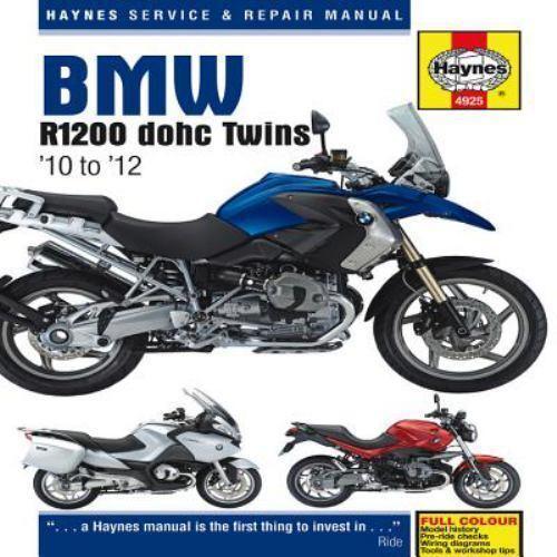 Haynes Service & Repair Manual: BMW R1200 Dohc Twins : '10