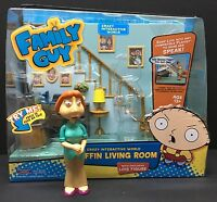 Playmates Family Guy - Griffin Living Room Playset - 043377621010 Toys
