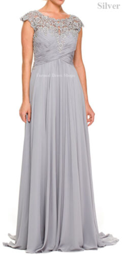 Signed Dress Avondjurk Groom The Mother Dress Sleeves Of Long Aletta OFCaTwqq