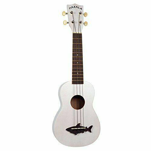 Kala Mksswht Makala Soprano Shark Bridge Ukulele Great White For Sale Online Ebay