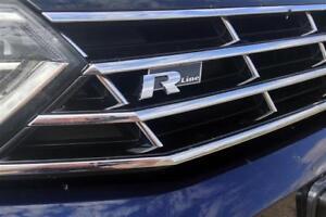 Nouveau VW CC 12-16 Genuine Chrome Front grill R-line Badge Emblème 3C8853948B fxc