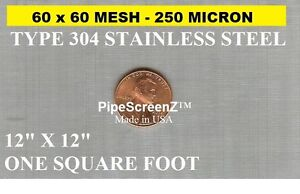 12-034-x12-034-60-MESH-250-MICRON-WOVEN-WIRE-MESH-STAINLESS-STEEL-FILTRATION-GRADE
