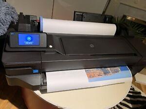 HP-DesignJet-T120-CQ891A-A1-Large-Format-Printer-24-New-Inks