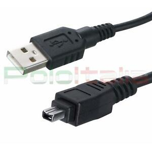 Cavo-3m-USB-2-0-a-FIREWIRE-4-pin-IEEE-1394-adattatore-dati-foto-video-pc-mini-dv