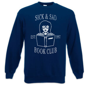 Pullover Sad Book Fun Club amp; Morgendorffer Sweatshirt Lanes Sick Daria gwXq5E