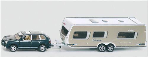 Axis (SIKU) Porsche Cayenne with a caravan 1 55 SK2542 SK2542 SK2542 356603