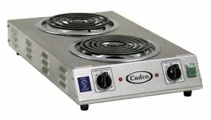 CADCO CDR-2TFB Hot Plate,Double,2