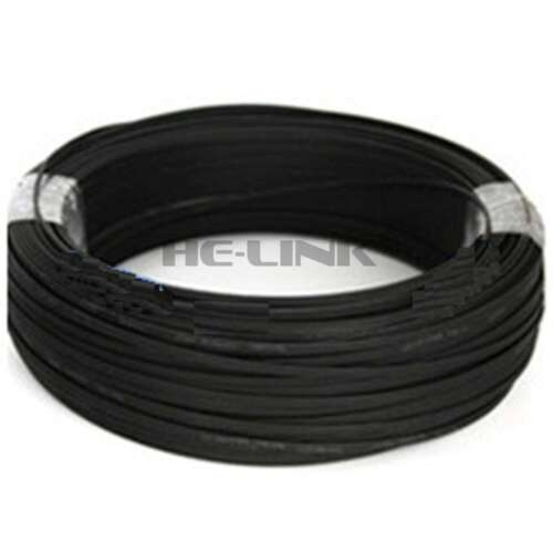 100M LC-LC Outdoor Armored 10G OM3 MM 4 Strands Fiber Optic Cable