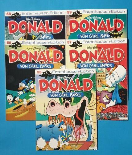 Edition  55 56 57 58 59 ungelesen 1A Donald Duck von Carl Barks Entenhausen