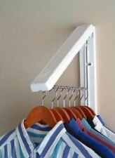 Wall Mount Laundry Room Clothes Hanging System Drying Storage Rack 50lb Load