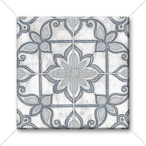 Details About Ceramic Tile Moroccan Tile Design Vintage Colors Grey White Home Decor