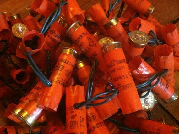 Shotgun Shell Party Lights - - - LED 50 Light String - Multiple Farbe choices e984fe