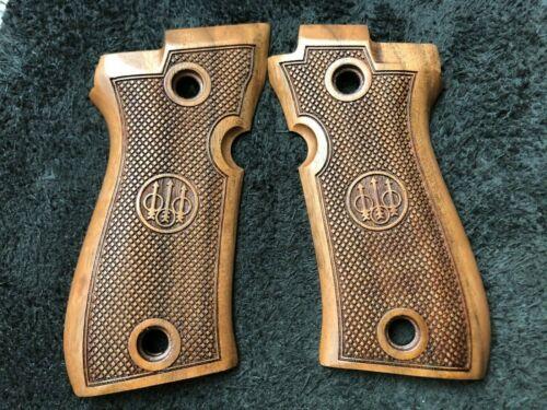 /% 35 discount SHORT TIME ! Beretta F81// F84 Grips Set Walnut Wood SALE !
