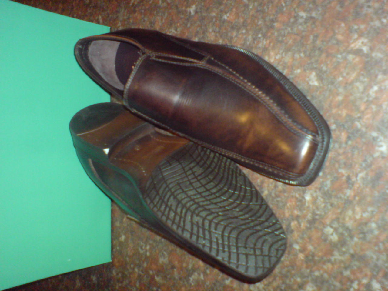 CLARKS Men  BROWN ANISTON, ITALIAN,COLLECTION  FORMAL & CASUAL  G