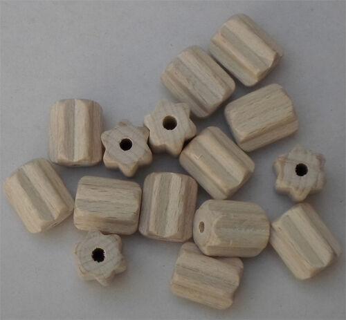 spécial formes pour fädelarbeiten #1781 Rouleau gerieft hêtre blanchis