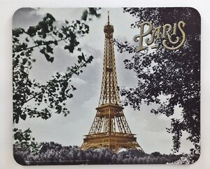 Image Is Loading Mouse Pad Photograph Of The Eiffel Tower Through
