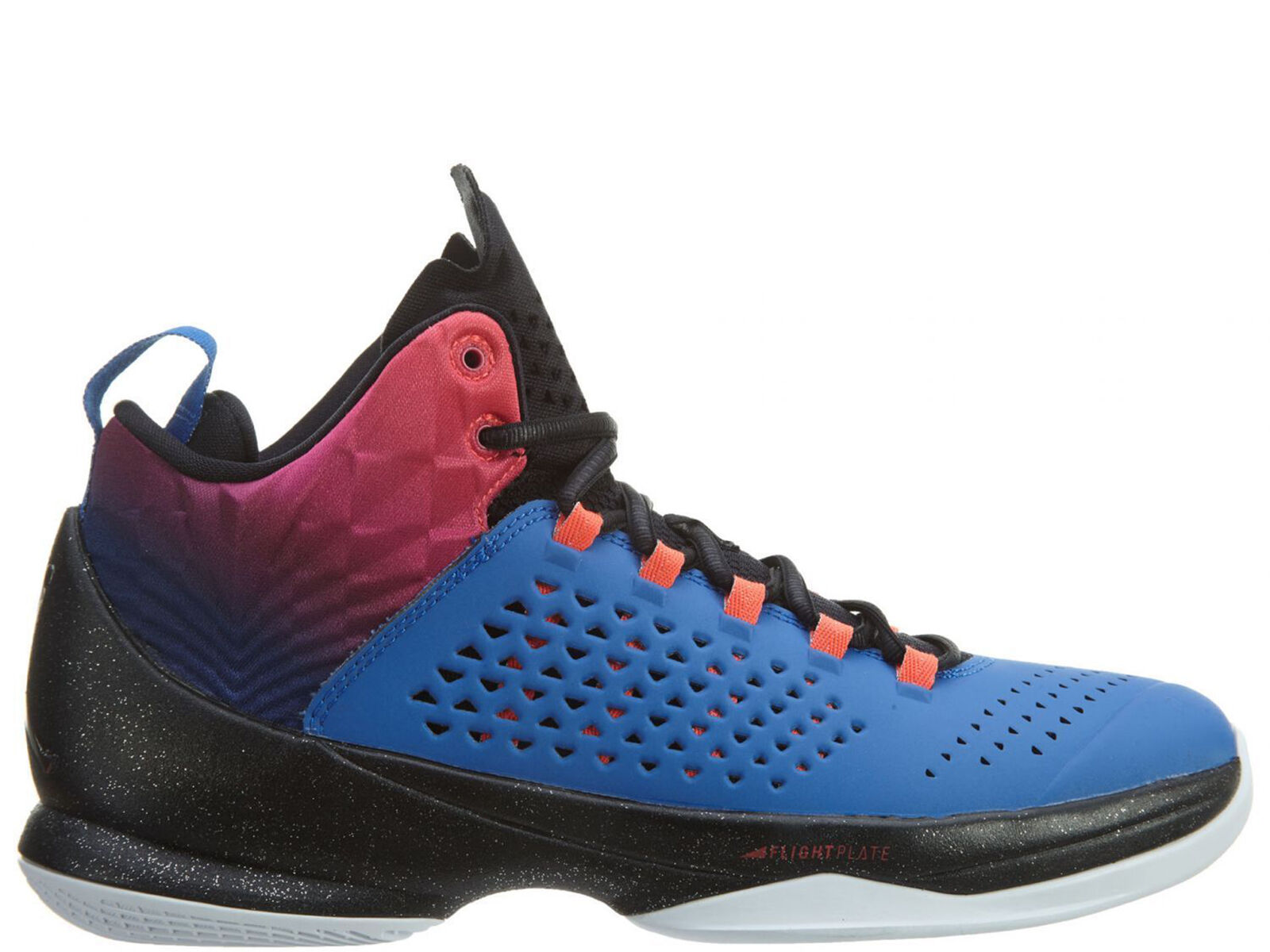99382f09f590 Jordan Melo M11 Mens 716227-425 Royal Fireberry Black Basketball ...