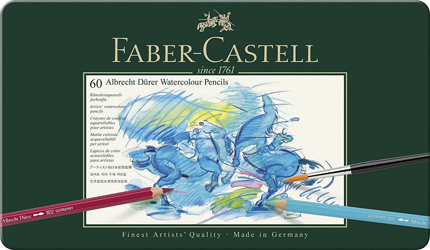 Faber Castell Albrecht Durer Singles Artists/' Watercolour Pencils 666 To 726