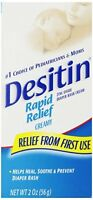 Desitin Rapid Relief Diaper Rash Creamy Ointment 2oz Each on sale