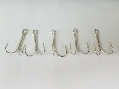 5 #1 Mustad 7825-NI Mullet Rig Hooks COMBINED SHIPPING AVAILABLE