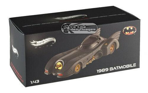 Batman 1989 Batmobile Elite 1 43 x5494 HOTWHEELS ELITE