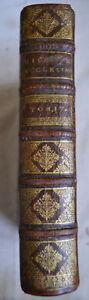1696 Mémoires pour servir a l'histoire  Ecclésiastique Tome 4 Charles Robustel