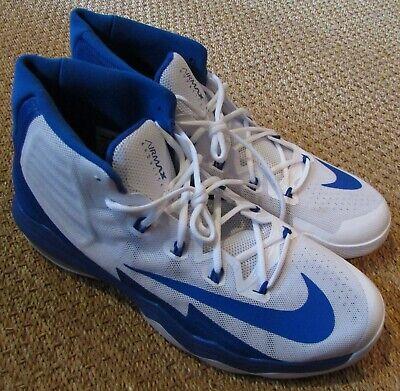 Nike Air Max Audacity 2016 Basketball Shoes Men's Size 16.5 Royal Blue 863115 14   eBay