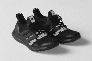 competitive price 40196 91bb5 Details about 2019 Undefeated x Adidas Ultra Boost 1.0 Blackout 4-13 Black  Reflective 3M