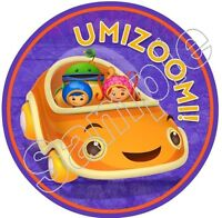 Team Umizoomi Umicar Car Iron On T Shirt / Pillowcase Fabric Transfer Tuc01