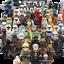 miniature 1 - STAR WARS Minifigures custom tipo Lego skywalker darth vader han solo obi yoda