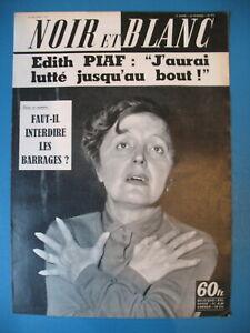 772-EDITH-PIAF-HENRI-VIDAL-GERARD-PHILIPE-SYLVIA-LOPEZ-REVUE-NOIR-ET-BLANC-1959