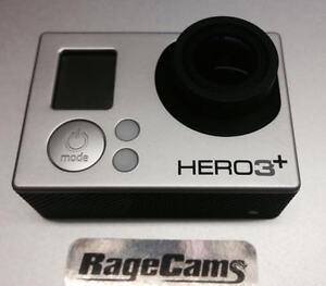 Plata Cámara With 4mm Nv Objetivo Visión Nocturna GOPRO Modificado Hero3