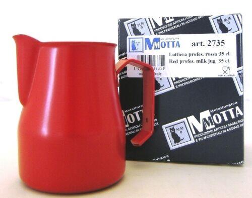 Motta pot 2735 aufschäumkännchen, aufschäumbehälter Europe 0,35 L rouge