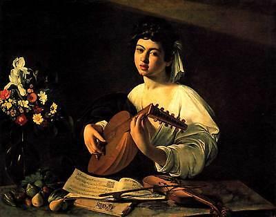 Caravaggio # 11 cm 50x70 Poster Stampa Grafica Printing Fine Art papiarte