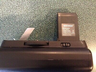 Neewer Battery Grip /& 2*Battery Replacement for Canon LP-E10 for Canon EOS 1100D