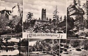 Mehrbildkarte Gruß aus dem Fichtelgebirge Kleinformat stampsdealer