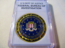 Federal Bureau of Investigation ( FBI ) Challenge Coin