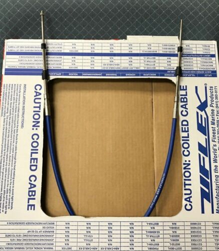 SHIFT AND THROTTLE CONTROL CABLES 3300 SERIES MACHZERO 216-MC0X28 28FT UNIVERSAL