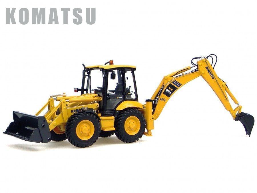 precios mas bajos UH8015 UH8015 UH8015 UH Universal Hobbies Komatsu WB 97S máquina de construcción 1 50 Diecast  Los mejores precios y los estilos más frescos.