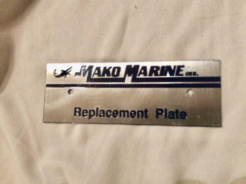 Mako Marine Hin Vin Plate