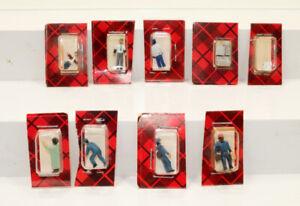 7 - HO Weston figures assorted people nude miniature