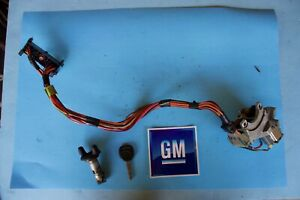 1998-1999-CHEVY-S10-BLAZER-IGNITION-LOCK-CYLINDER-SWITCH-amp-HOUSING-ASSEMBLY-OEM