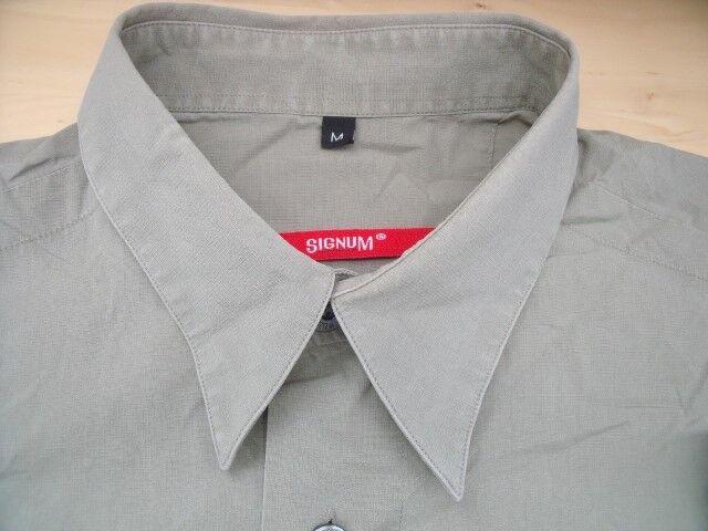 EG245 Signum  Hemd M  helles Seegrün Unifarben Sehr Sehr Sehr gut | Kostengünstig  | Creative  413541